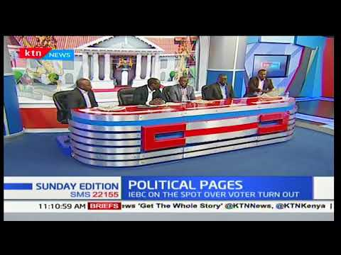 The numbers puzzle continues to bedevil Kenyans as IEBC verify forms 34 A's: Sunday Edition