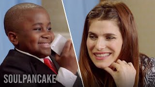 Kid President Calls a Girl with Help From Lake Bell
