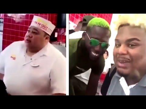Naza et OhMonDieuSalva se moquent d'un serveur obèse