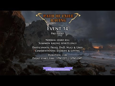 [S1E14] Summon Raging Spirits Izaro Kill (Solo)