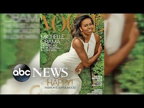 Michelle Obama Vogue Magazine Cover