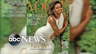 Michelle Obama Vogue Magazine Cover