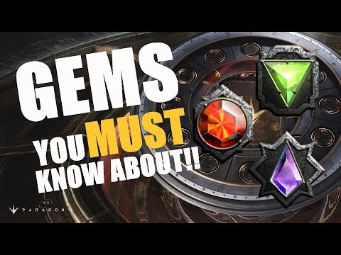 Gems you GOT to know About!!   v42 Paragon Guide