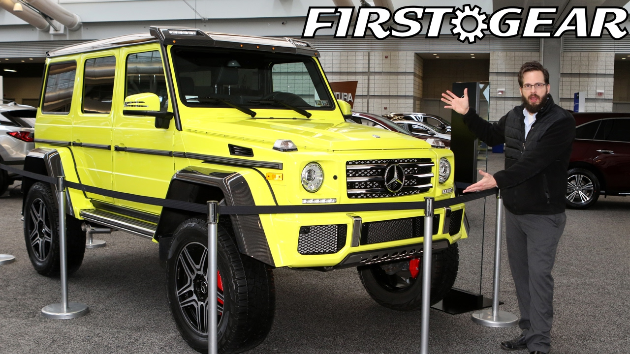 Mercedes Benz Of Pittsburgh >> 2017 Mercedes Benz G 550 First Gear Review At Pittsburgh Auto Show
