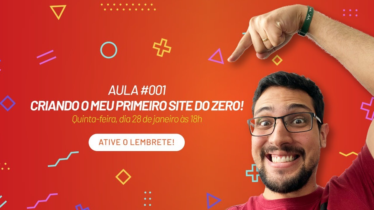 Como criar um site zero com o Wix | Aula #001