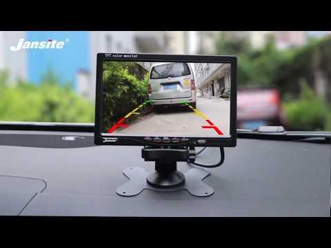 Jansite 7 дюймов проводной автомобильный монитор