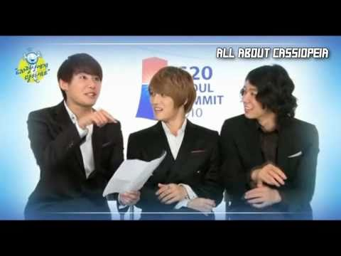 [HD/1080p] G20 Seoul Summit 2010 NG Scenes with Yuna-Kim, Jisung Park & JYJ