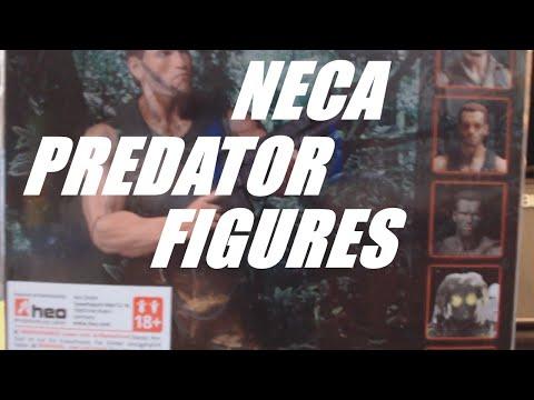 My NECA Predator Figures | REVIEW | HORROR STUFF | COLLECTIBLES |