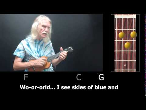Over the Rainbow/What a Wonderful World - How to Play Clawhammer Uke Style