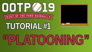 OOTP 19 Tutorial #1 - Platooning