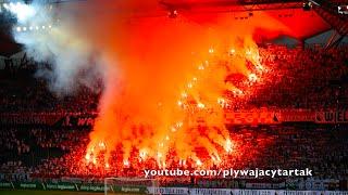 Legia Warszawa - Górnik Zabrze, Legia Warsaw fans celebrates Warsaw Uprising Anniversary