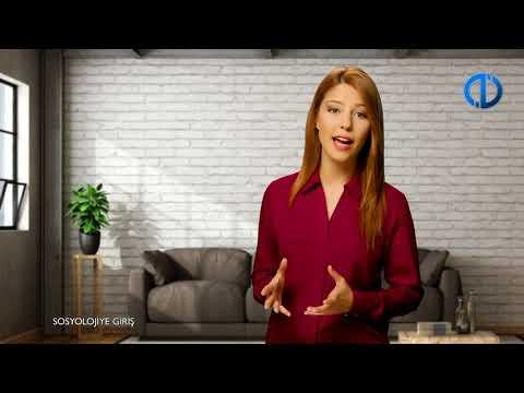 SOSYOLOJİYE GİRİŞ - Ünite 1 Konu Anlatımı 1