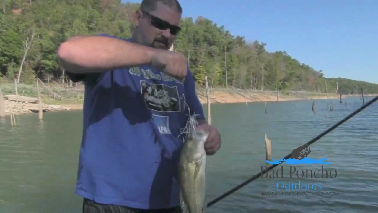 Spinnerbait bass fishing on beaver lake arkansas youtube for Fishing in arkansas