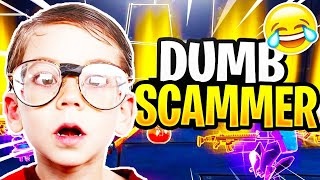 Dumb Scammer Nearly Scams Me! (Scammer Gets Scammed) Fortnite Save The World