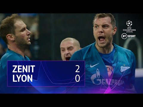 Zenit vs Lyon (2-0) | UEFA Champions League Highlights