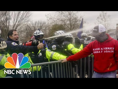 FBI Never Issued Intel Bulletin Ahead Of Capitol Riot Due To Free Speech Concerns | NBC News NOW
