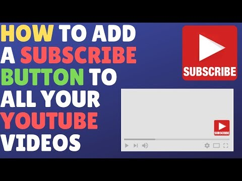 How to add a subscribe button to all your YouTube videos (branding watermark)
