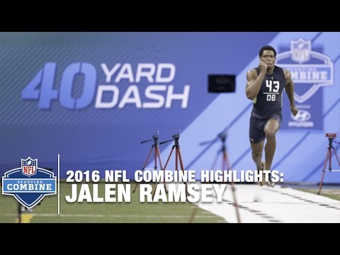 Jalen Ramsey (Florida St., DB) | 2016 NFL Combine Highlights
