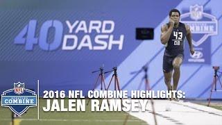 Jalen Ramsey (Florida St., DB) | 2016 NFL Combine Highlights