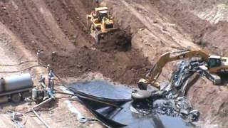 EnCana Buries Hydraulic Fracturing Pit Sludge in Unlined Pit May 14, 2009