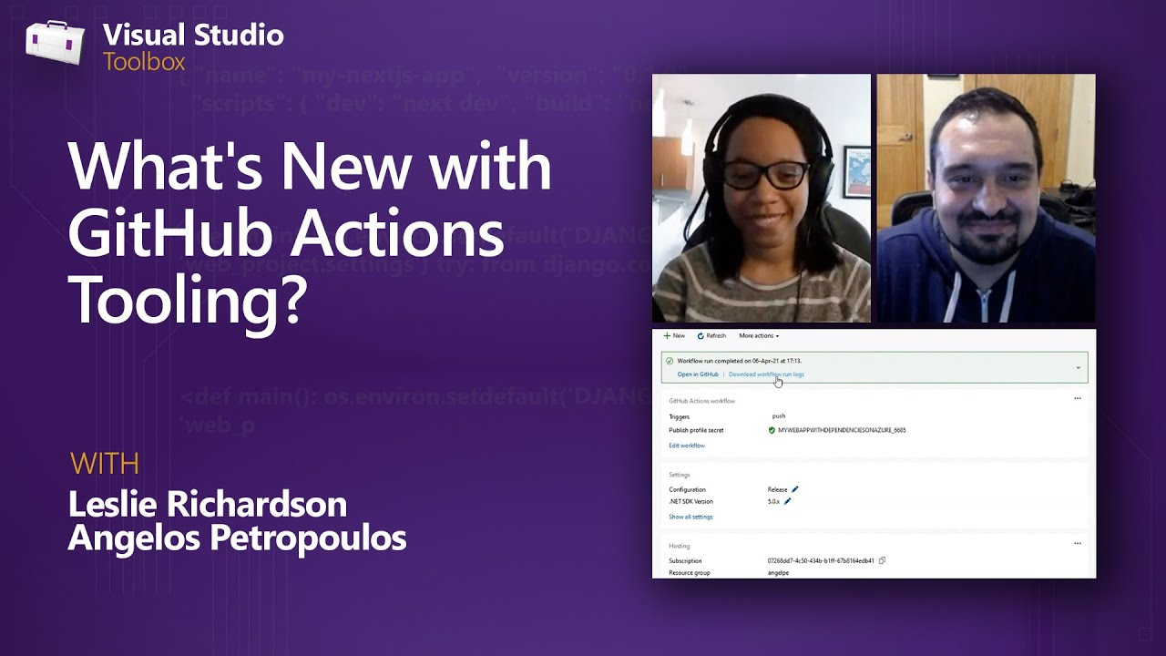 What's New with GitHub Actions Tooling?