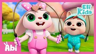 Baby Excercise Song | Educational Baby Songs & Nursery Rhymes | Eli Kids
