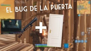 The bug of shooting through a door!!! Fortnite