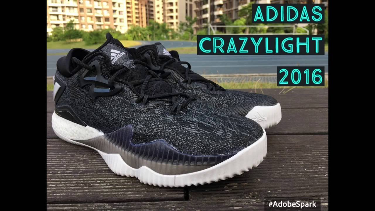 new product f7ce8 32076 Adidas CrazyLight Boost 2016 review 鞋評- YouTube