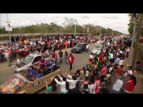 Emisión en directo. Martes de Batalla de Flores. Carnaval de Mérida 2016