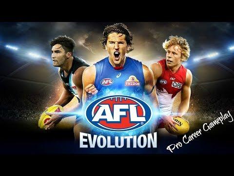 AFL Evolution Pro Career Gameplay #18 - Tom Liberatore - Adelaide Crows v Western Bulldogs
