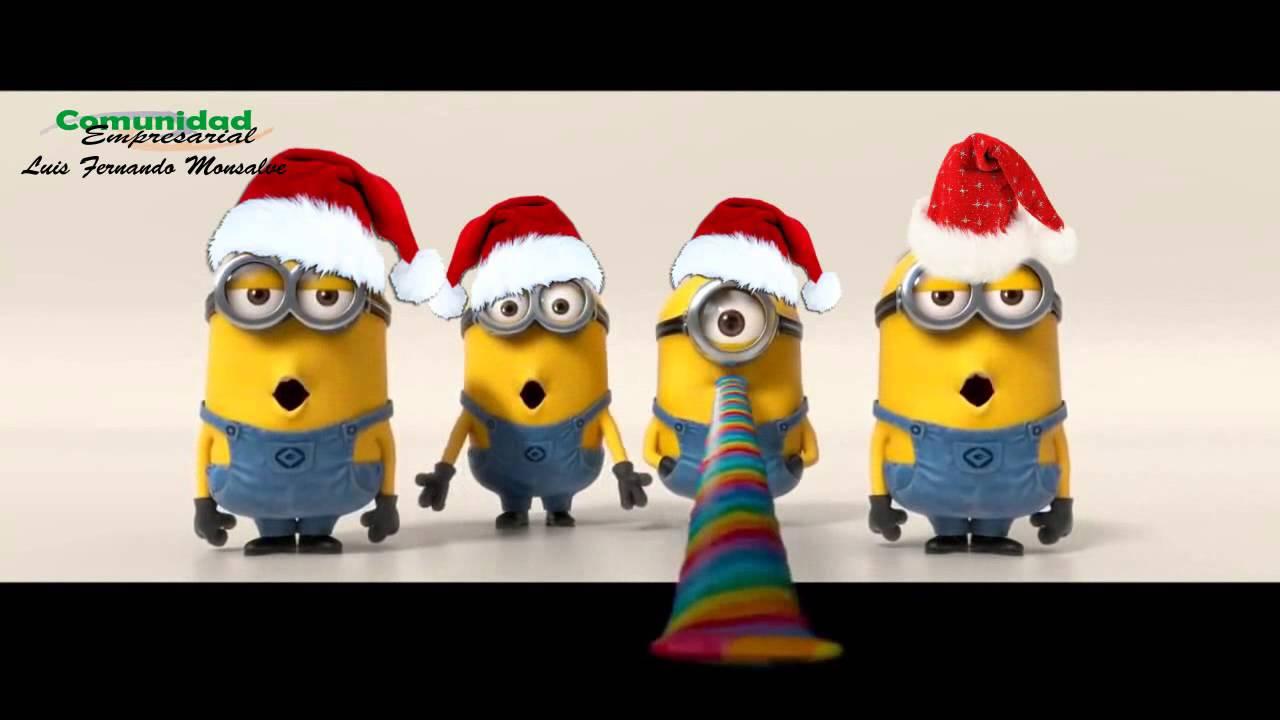 minions merry christmas