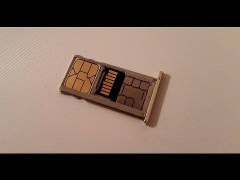 Как установить 2 Sim + Sd (2 сим + карту памяти) в телефон Xiaomi Redmi 6 Pro