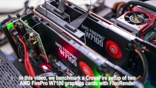 Benchmark AMD FirePro W7100 CrossFire with FluoRender