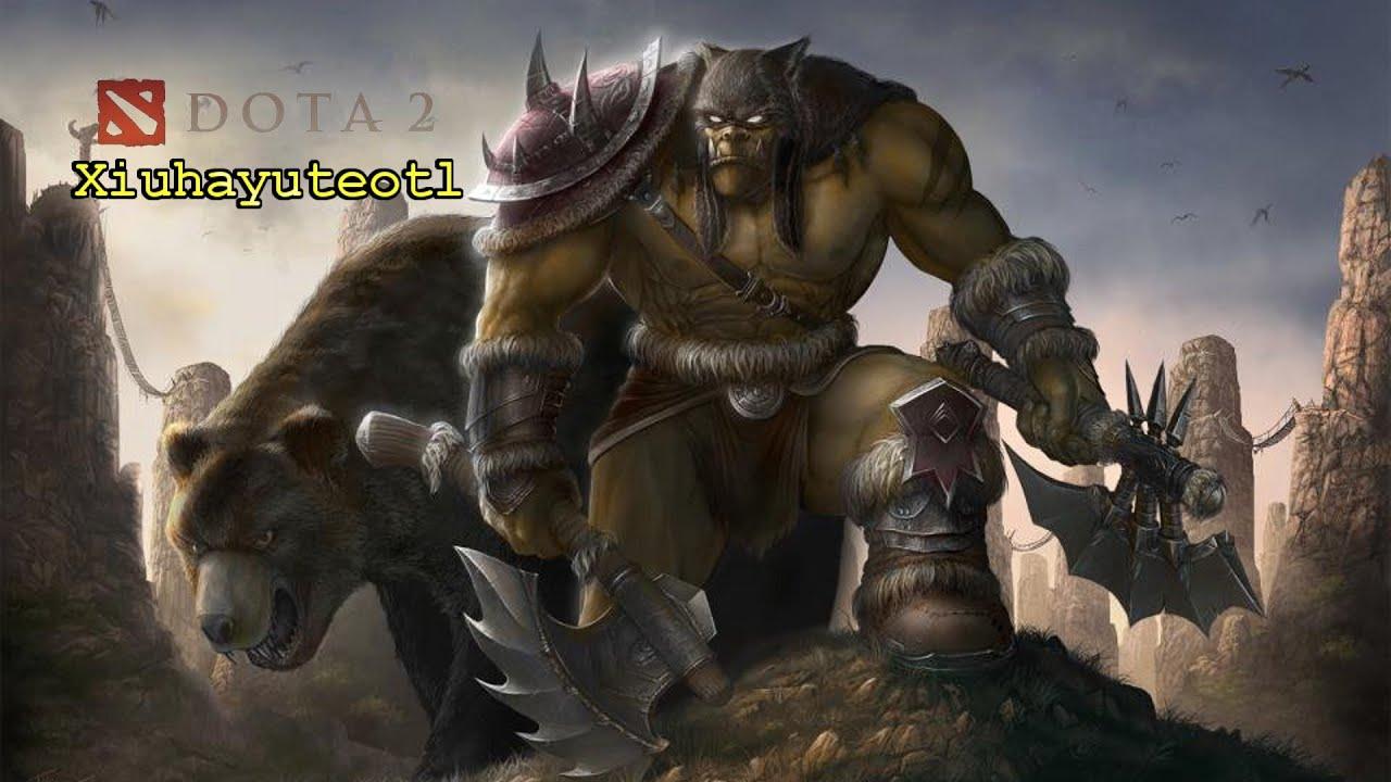 dota 2 how to beastmaster push vs pushing team xiuhayuteotl