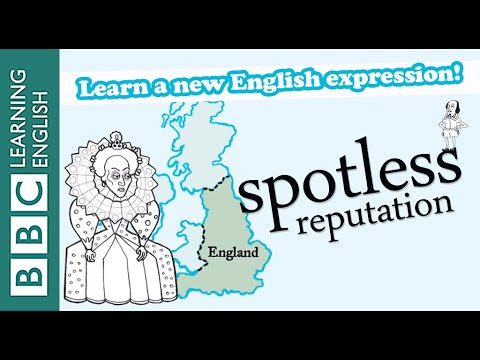 Spotless reputation - Shakespeare Speaks