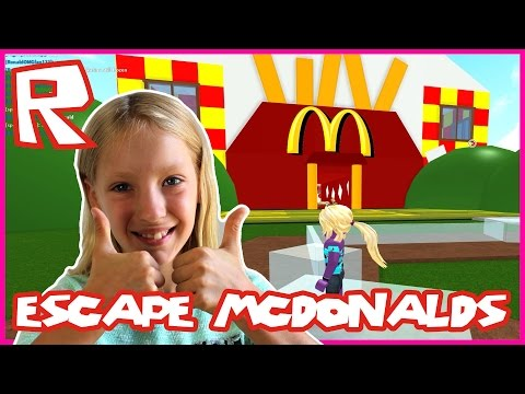 Escaping McDonalds / Restarting the Game / Roblox
