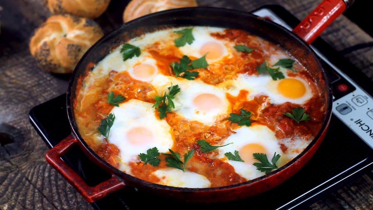 طريقه بيض تركى بالجبن المودزريلا سهل التحضير خطيره Breakfast Turkish Food Youtube