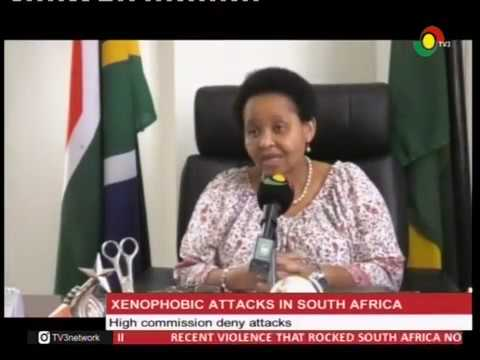 South African High Commission refutes reports of  xenophobic attacks  - 3/3/2017