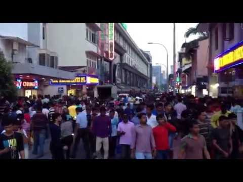 Busy Little India Singapore