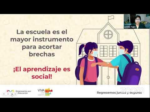 Regresemos juntos y seguros Enfoque pedagógico