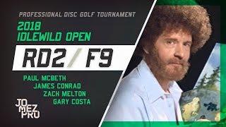 2018 Idlewild Open | R2, F9, MPO | McBeth, Melton, Conrad, Costa