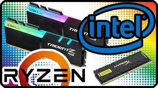 Какую оперативную память купить? ✅ Какая оперативная память лучше для Ryzen и Intel (сборка пк)