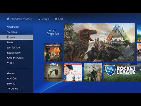 PLAYSTATION STORE PS4 WALKTHROUGH! (Games, Deals, Redeem Codes, AND MORE!) 2018