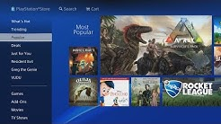 PLAYSTATION STORE PS4 WALKTHROUGH! (Games, Deals, Redeem Codes, AND MORE!) 2020