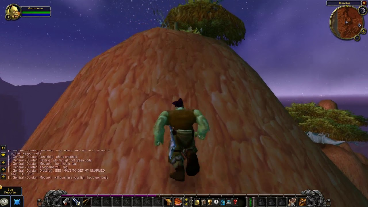 WoW Classic Beta Wall Jumping Top of Orgrimmar