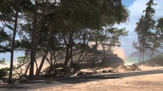 2PPCLI performs insertions while 1st Battalion 3rd Marines secure the beachhead - RIMPAC 2012