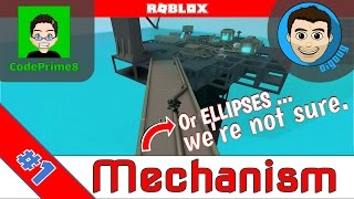 Roblox Ellipses or Roblox Mechanism : Ep 1 : Default.io and David's new Game!