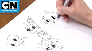 5-Minute Drawing Challenge | Summer Camp Island | Cartoon Network