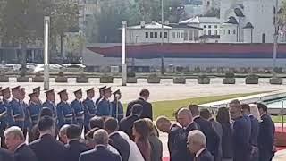 Aleksandar Vučić stigao u Palatu Srbija da dočeka Erdogana