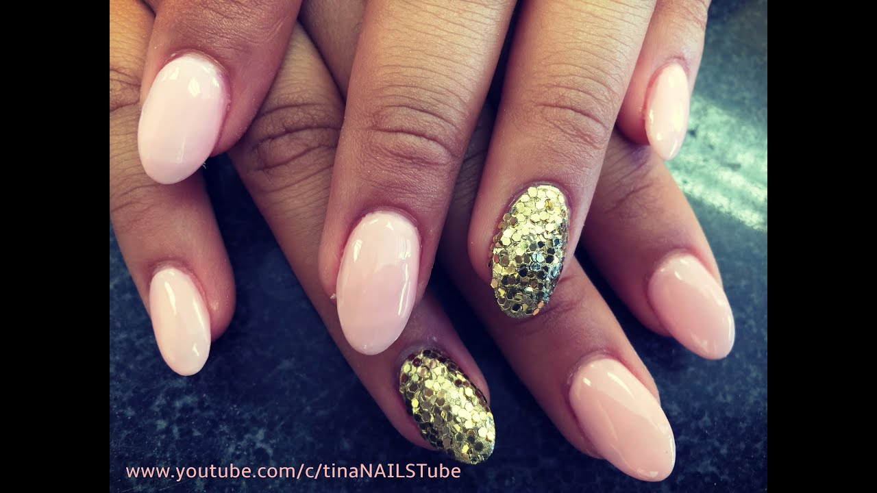 Almond Shaped Acrylic Nails Step By Tutorial Part 1